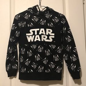 Star Wars Darth Vader licensed kids hoodie